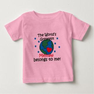 Best Memaw Belongs to me Baby T-Shirt