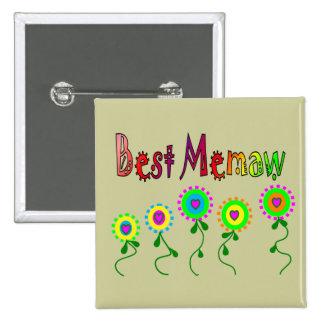 Best Memaw Gifts Buttons