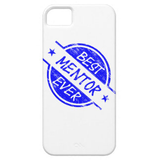 Best Mentor Ever Blue iPhone 5 Cases