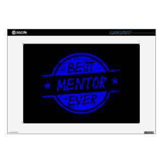 Best Mentor Ever Blue Laptop Skins