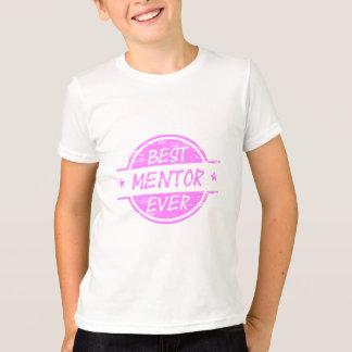 Best Mentor Ever Pink T-Shirt
