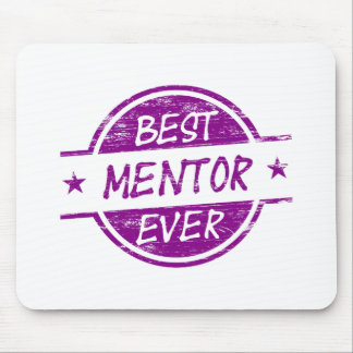Best Mentor Ever Purple Mouse Pad