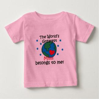 Best Mimi Belongs to me Baby T-Shirt