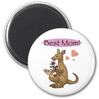 Best mom 2 inch round magnet