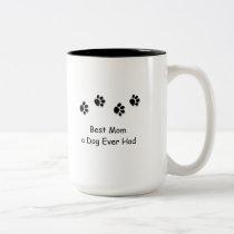 Best Mom a Dog Ever Had Travel Mug