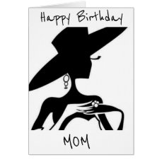 ***BEST MOM AND BEAUTIFUL LADY*** ON YOUR BIRTHDAY CARD