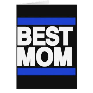 Best Mom Blue Card