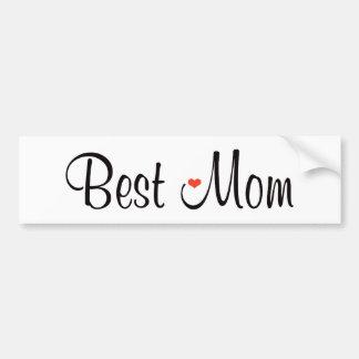 Best Mom Bumper Stickers