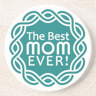 BEST MOM coaster