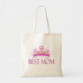 Best Mom Crown bag