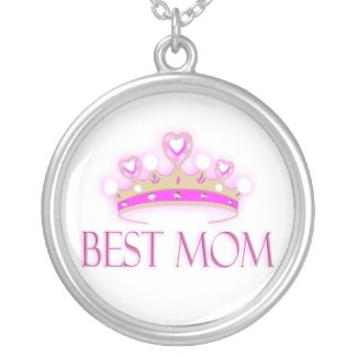 Best Mom Crown necklace