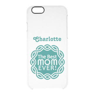 BEST MOM custom cases Uncommon Clearly™ Deflector iPhone 6 Case