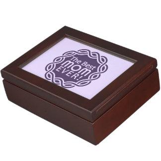BEST MOM custom keepsake box