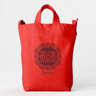 BEST MOM custom monogram bags