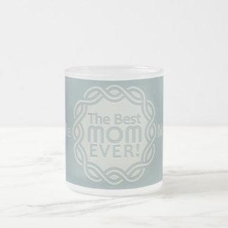 BEST MOM custom monogram mugs