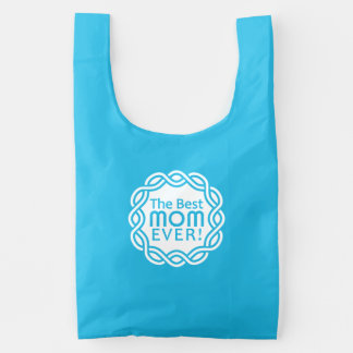 BEST MOM custom monogram reusable bags