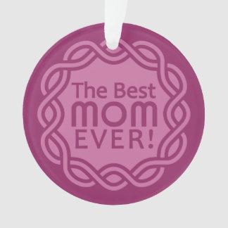 BEST MOM custom ornament