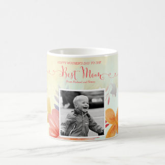 Best Mom Custom Photo Mother's Day Mug