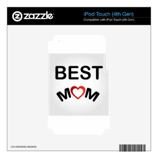 Best Mom Decal For iPod Touch 4G