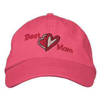 Best Mom Embroidered Hat