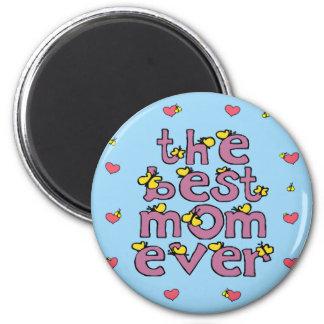 best mom ever 2 inch round magnet