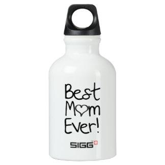 Best Mom Ever! Aluminum Water Bottle