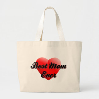 Best Mom Ever Canvas Bags