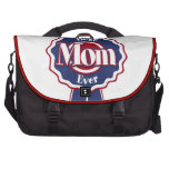 Best Mom Ever Blue Ribbon Laptop Bags