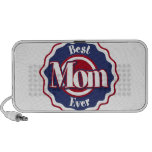 Best Mom Ever Blue Ribbon Portable Speakers