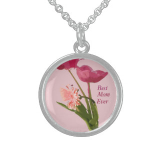 """""""Best Mom Ever"""" Custom Mother's Day Necklace"""