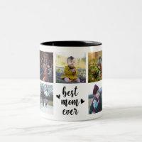 Best Mom Ever Custom Photo Mug