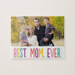 "Best Mom Ever Custom Photo Puzzle<br><div class=""desc"">Photo gifts make the best gifts! Easily personalized with your text and/or photo(s) for a custom look. Designed by Berry Berry Sweet. View more designs at www.berryberrysweet.com</div>"