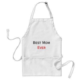 Best Mom Ever Custom Text Design Adult Apron