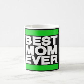 Best Mom Ever Green Coffee Mug