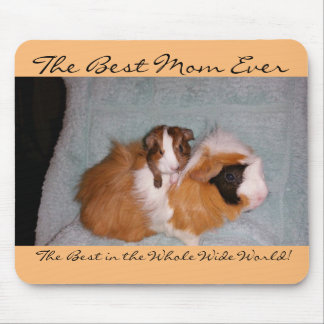 Best Mom Ever Guinea pig Mouse pad