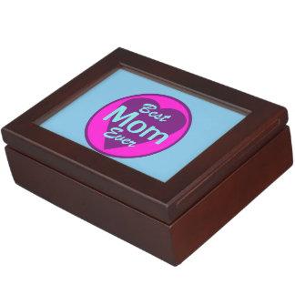 Best Mom Ever Keepsake Boxes