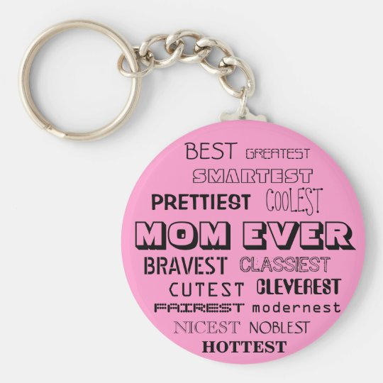 BEST MOM EVER KEY CHAIN