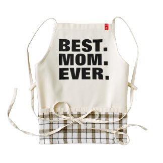 BEST MOM EVER Kitchen Aprons