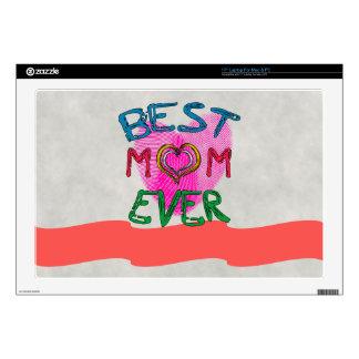 BEST MOM EVER Laptop Skin