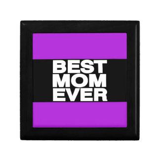 Best Mom Ever Lg Purple Trinket Box