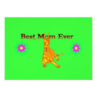 Best Mom Ever Momsday Invitation