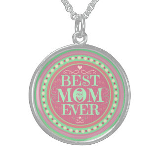 Best Mom Ever Mother's Day Necklace