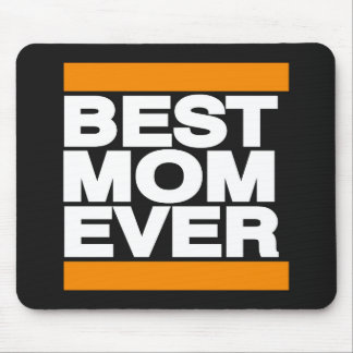 Best Mom Ever Orange Mouse Pad