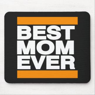 Best Mom Ever Orange Mouse Pad