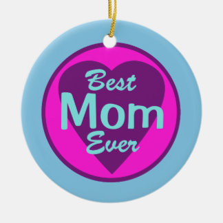 Best Mom Ever Personalized Photo Ornament