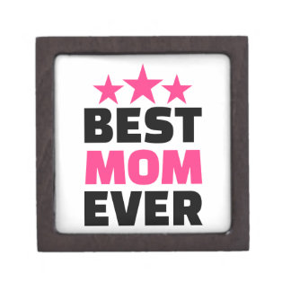 Best Mom ever Premium Trinket Box