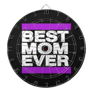Best Mom Ever Purple Dartboards