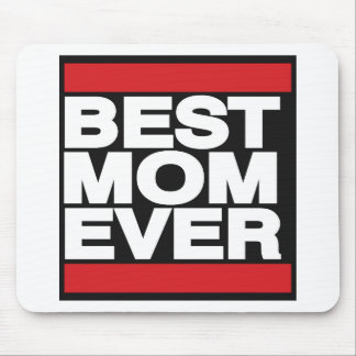 Best Mom Ever Red Mouse Pad