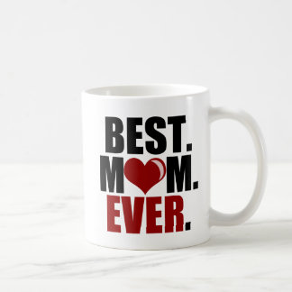 Best Mom Ever (red) Mug