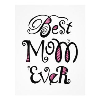 Best Mom Ever Typography Flyer